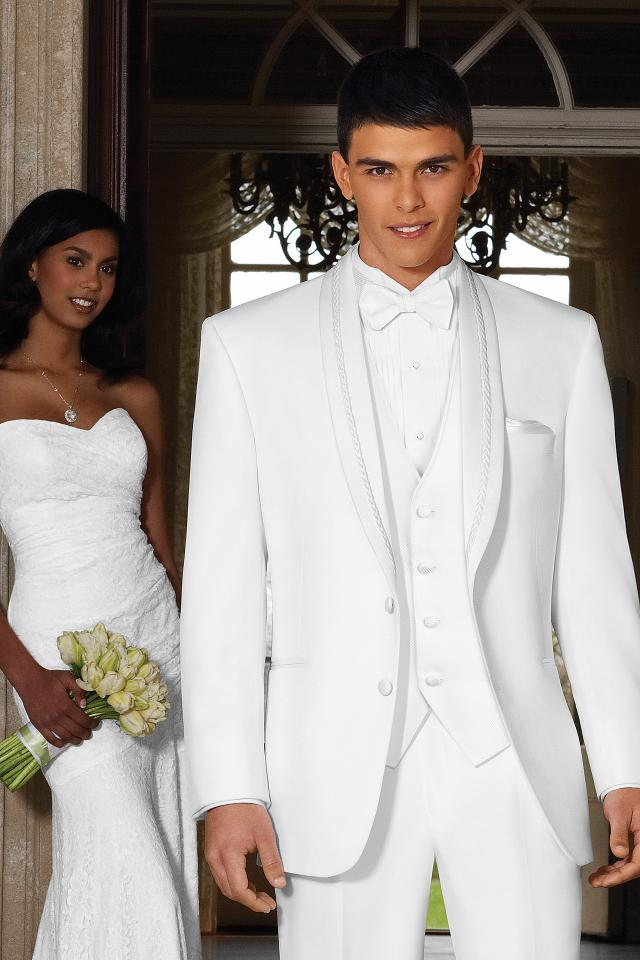 Modern White Wedding Tuxedos For Groom Image Collection - Wedding ...